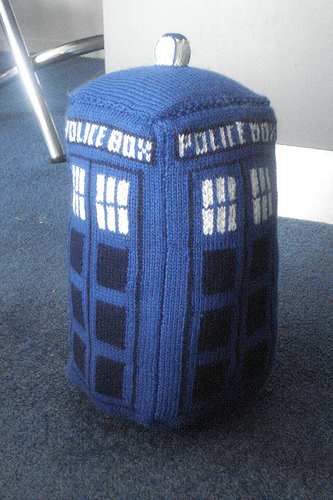 * A Tardis!!!  Yeah, gotta make one of these, too.