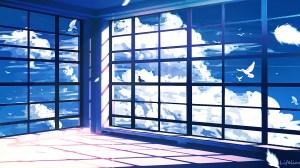 empty anime sky window wallpapers backgrounds background lifeline