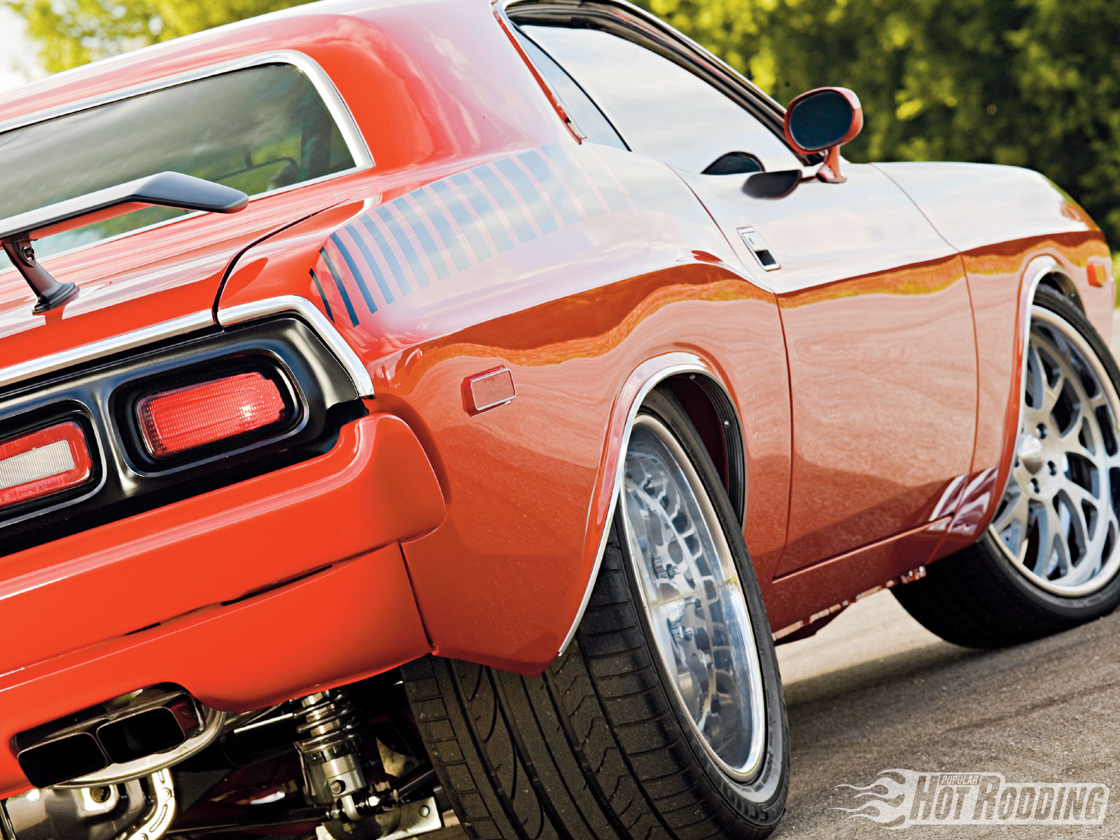 3840x1080 Wallpaper Classic Car 1973 Dodge Challenger Wallpaper And Background Image