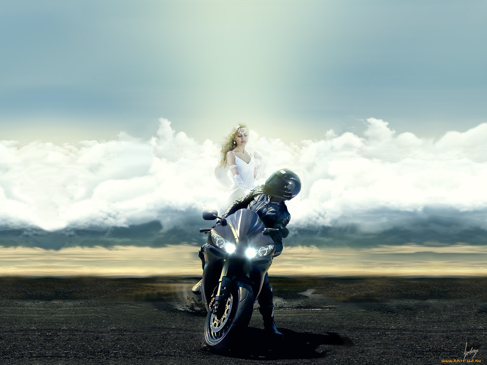 Biker Girl Wallpaper Motorcycle Wallpaper And Background Image 1600x1200 Id