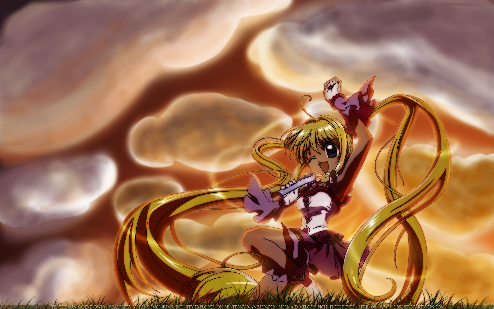 Vocaloid Anime Wallpaper 1 Mermaid Melody Pichi Pichi Pitch Hd Wallpapers