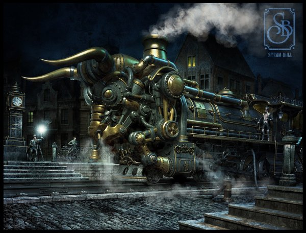 Steampunk Wallpaper And Background 1500x1140 Id