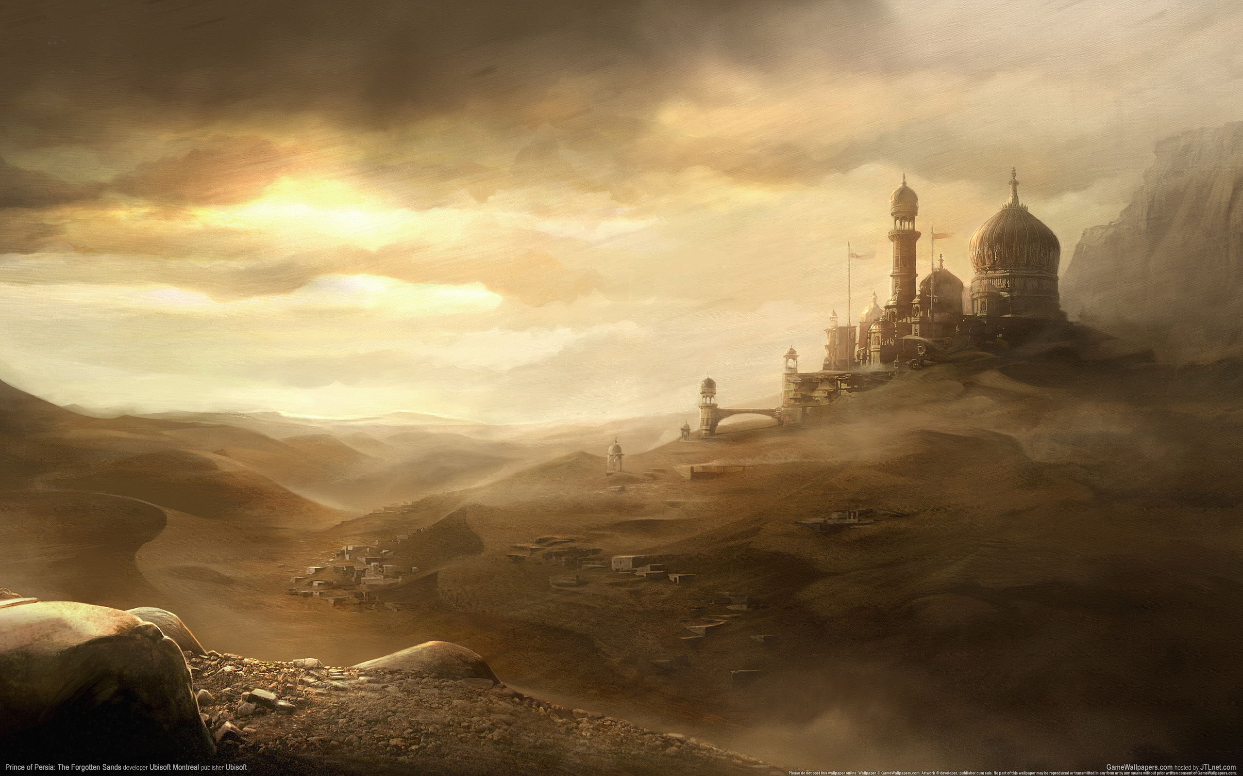 Prince Of Persia The Forgotten Sands Full HD Wallpaper