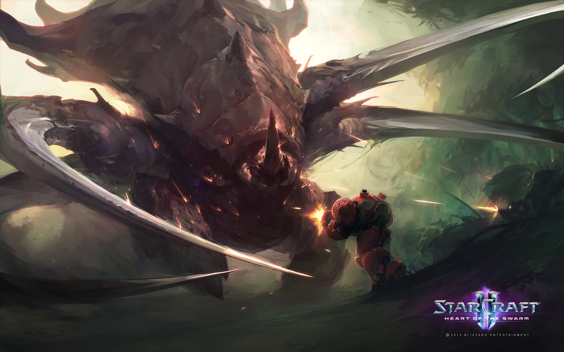 Starcraft 2 Iphone Wallpaper Starcraft Ii Heart Of The Swarm Full Hd Wallpaper And