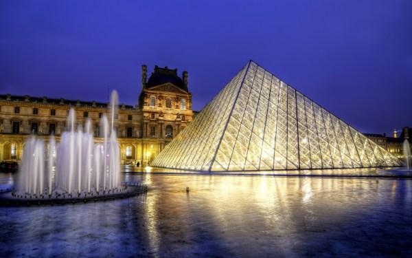 Louvre Hd Wallpaper Background 2880x1800
