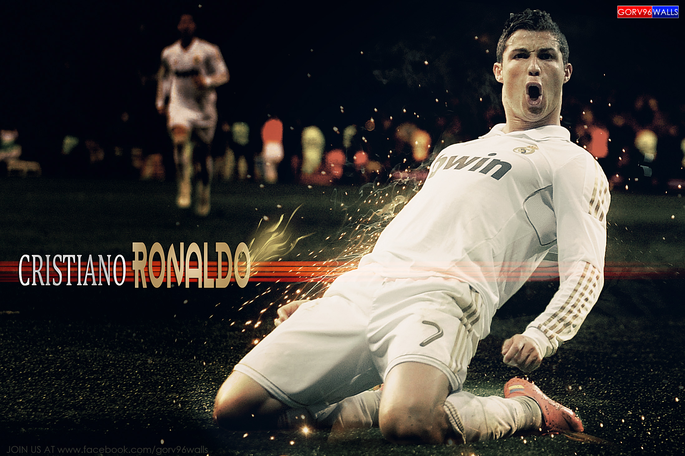 Wallpaper 3d C Ronaldo Cristiano Ronaldo Hd By Gorv96walls Full Hd Sfondo And
