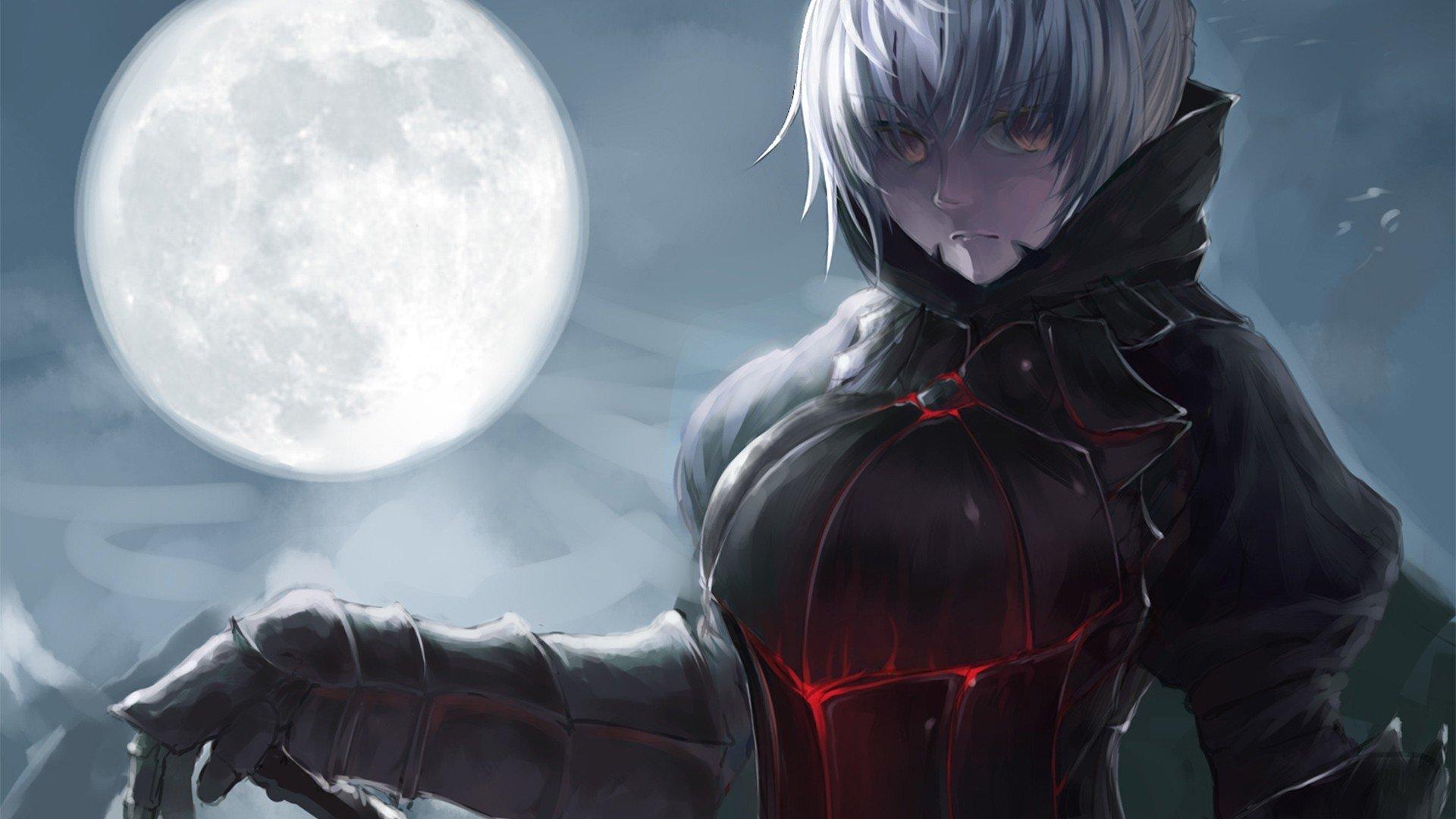 Evil Dark Spirit Girl Wallpaper Hd Fate Stay Night Hd Wallpaper Background Image