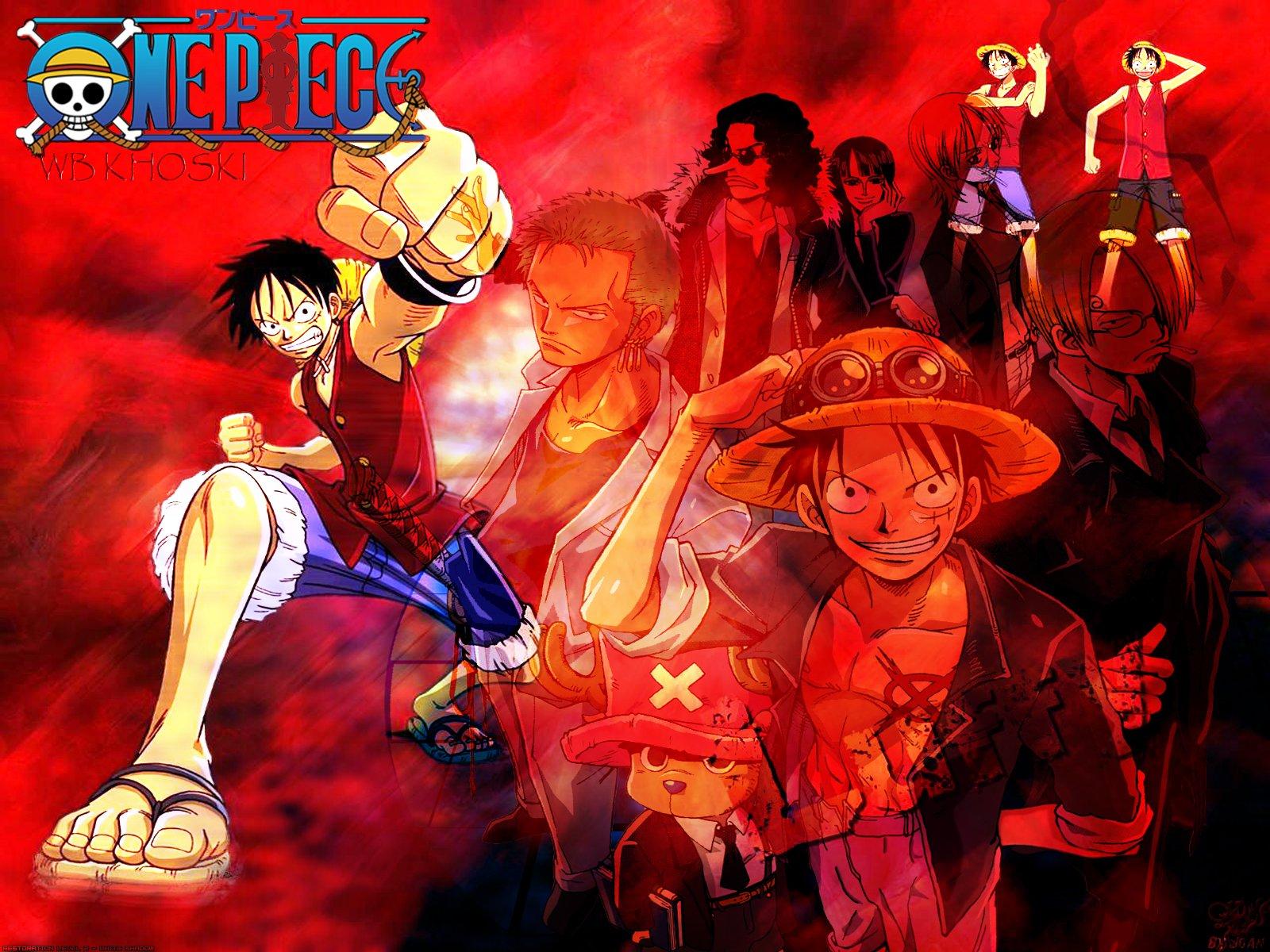 One Piece Hd Wallpaper 1080x1920 Monkey D Luffy And Nakamas One Piece Wb Khoski Fond D