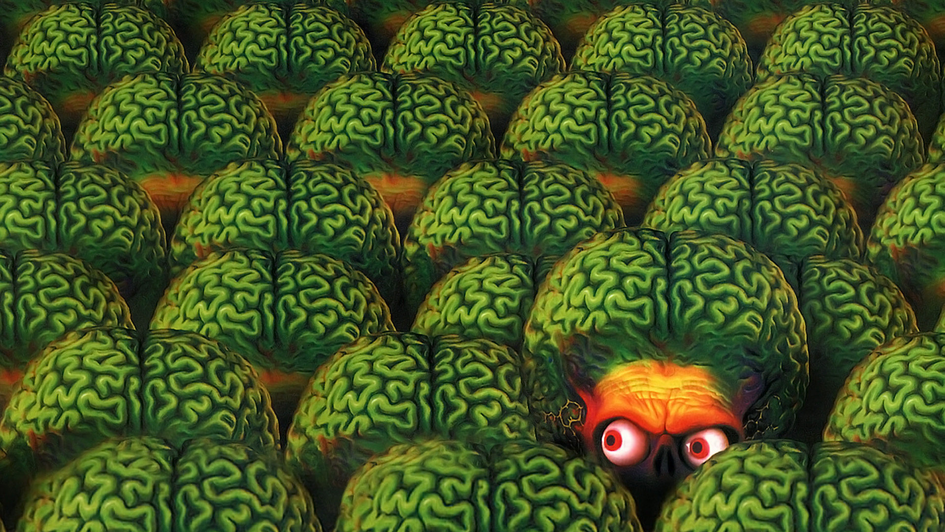 Fall Wallpaper 1600x900 Mars Attacks Full Hd Wallpaper And Background Image
