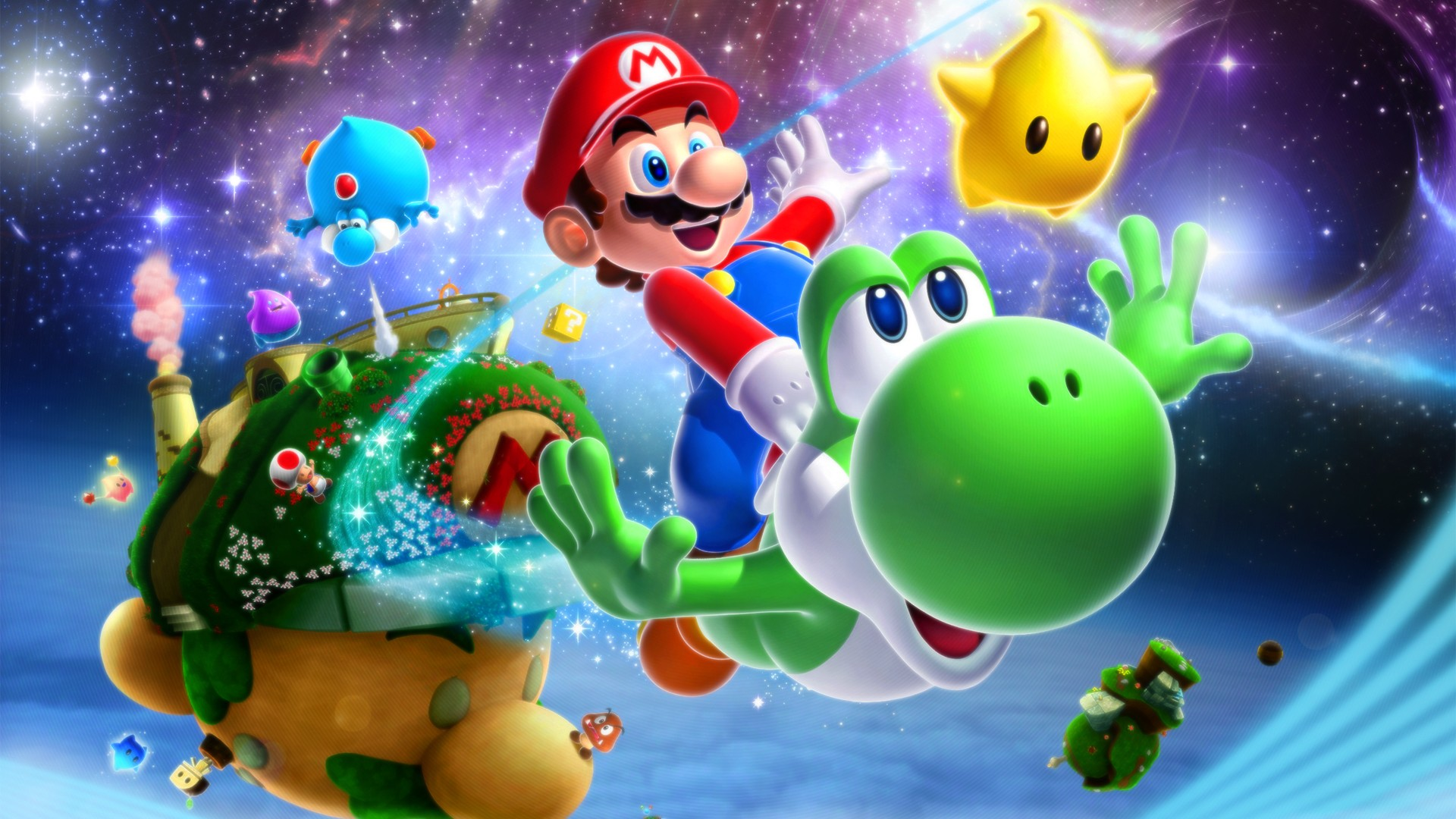 18 Super Mario Galaxy 2 HD Wallpapers Backgrounds