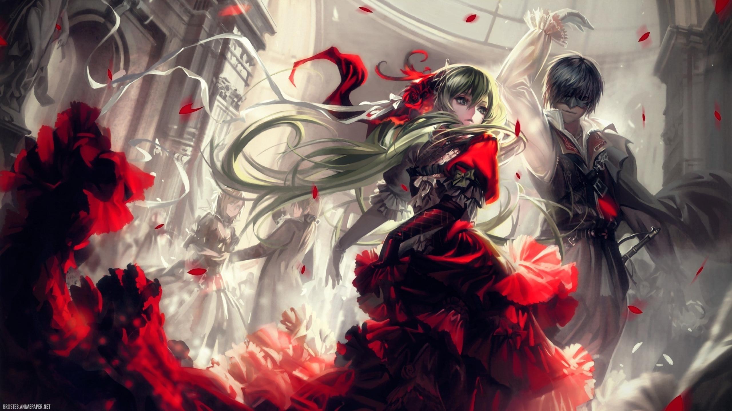 Cantarella (Miku And Kaito) HD Wallpaper