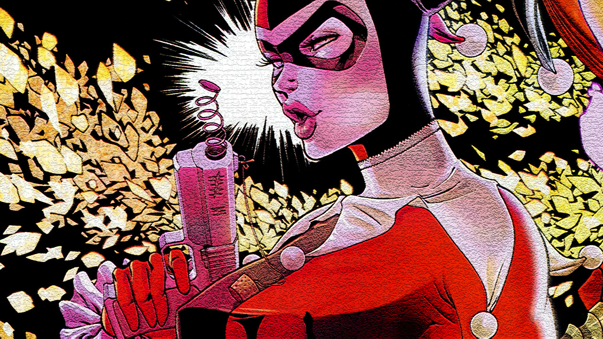 Harley Quinn Hd Iphone Wallpaper Gotham City Sirens Hd Wallpaper Background Image