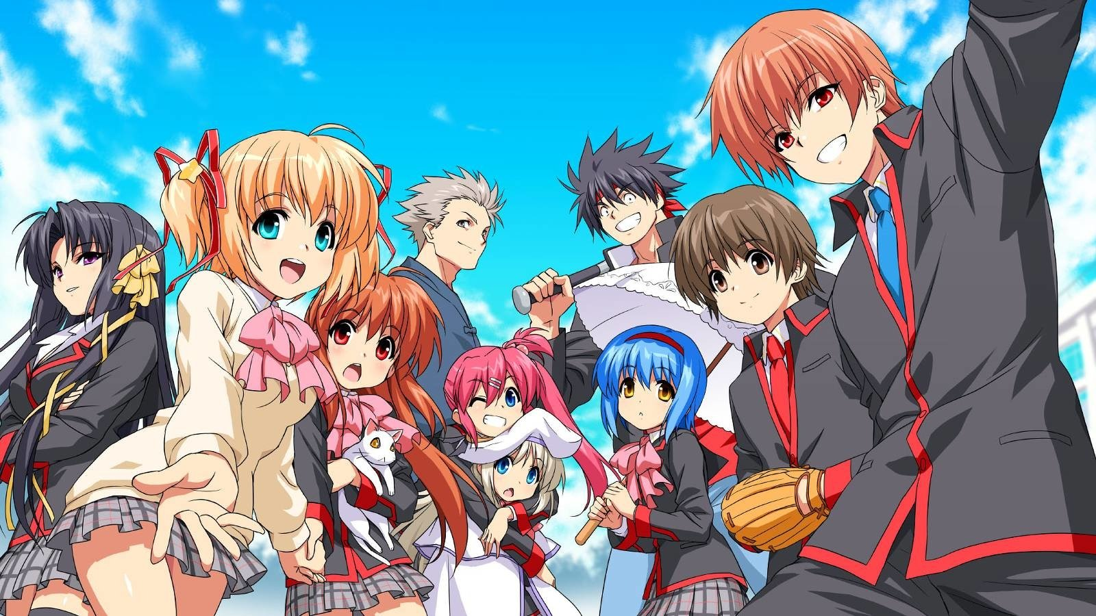The Girl Who Leapt Through Time Wallpaper Little Busters Wallpaper And Background Image 1600x900