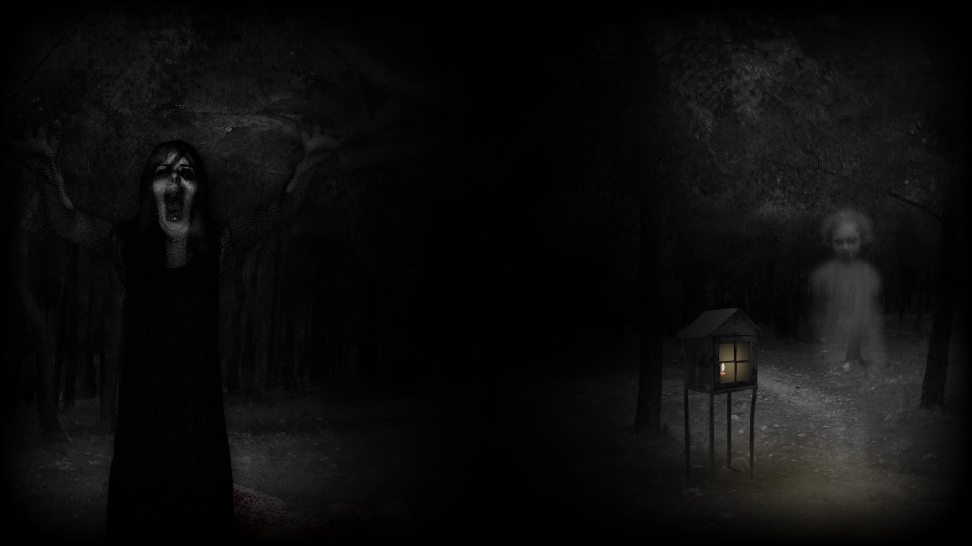 Haunted House 3d Live Wallpaper Download Real Horror Stories Ultimate Edition Hd Wallpaper
