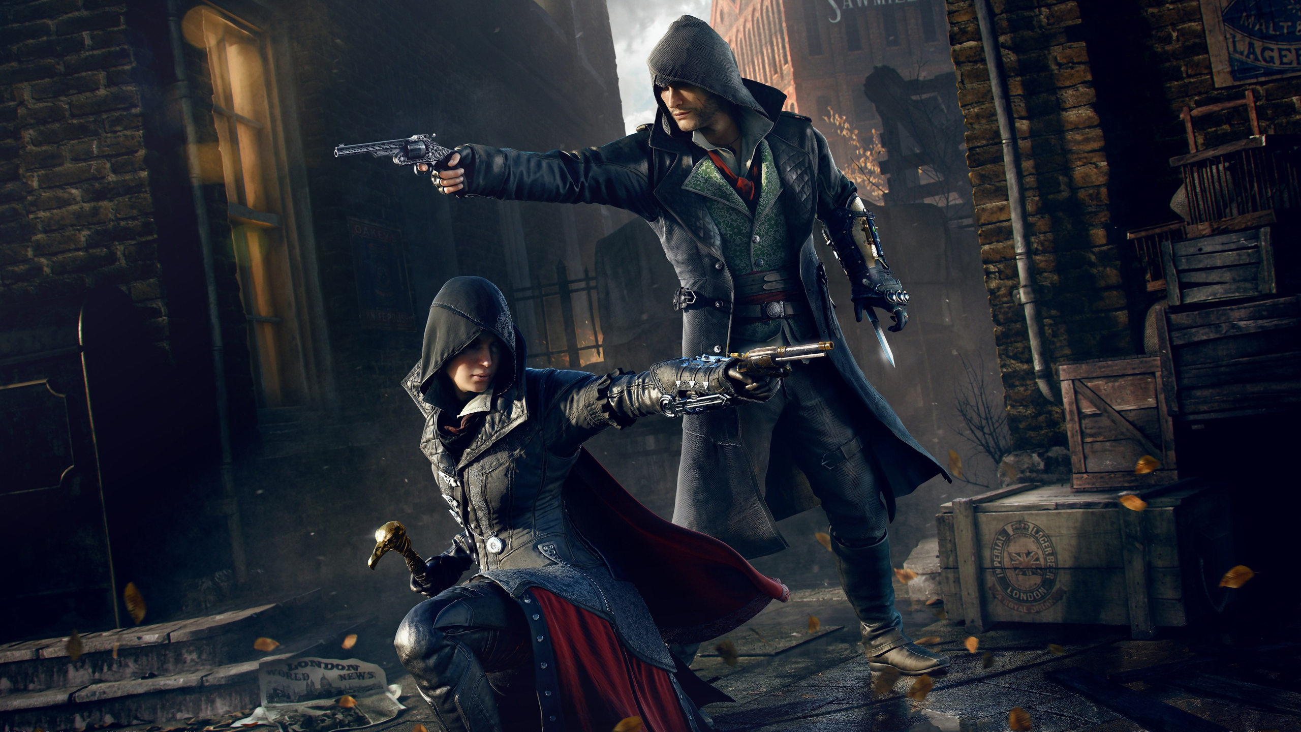 Assassins Creed Syndicate Fond dcran HD  ArrirePlan