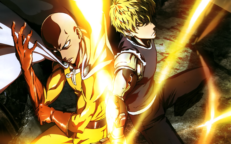 (Saitama and Genos)