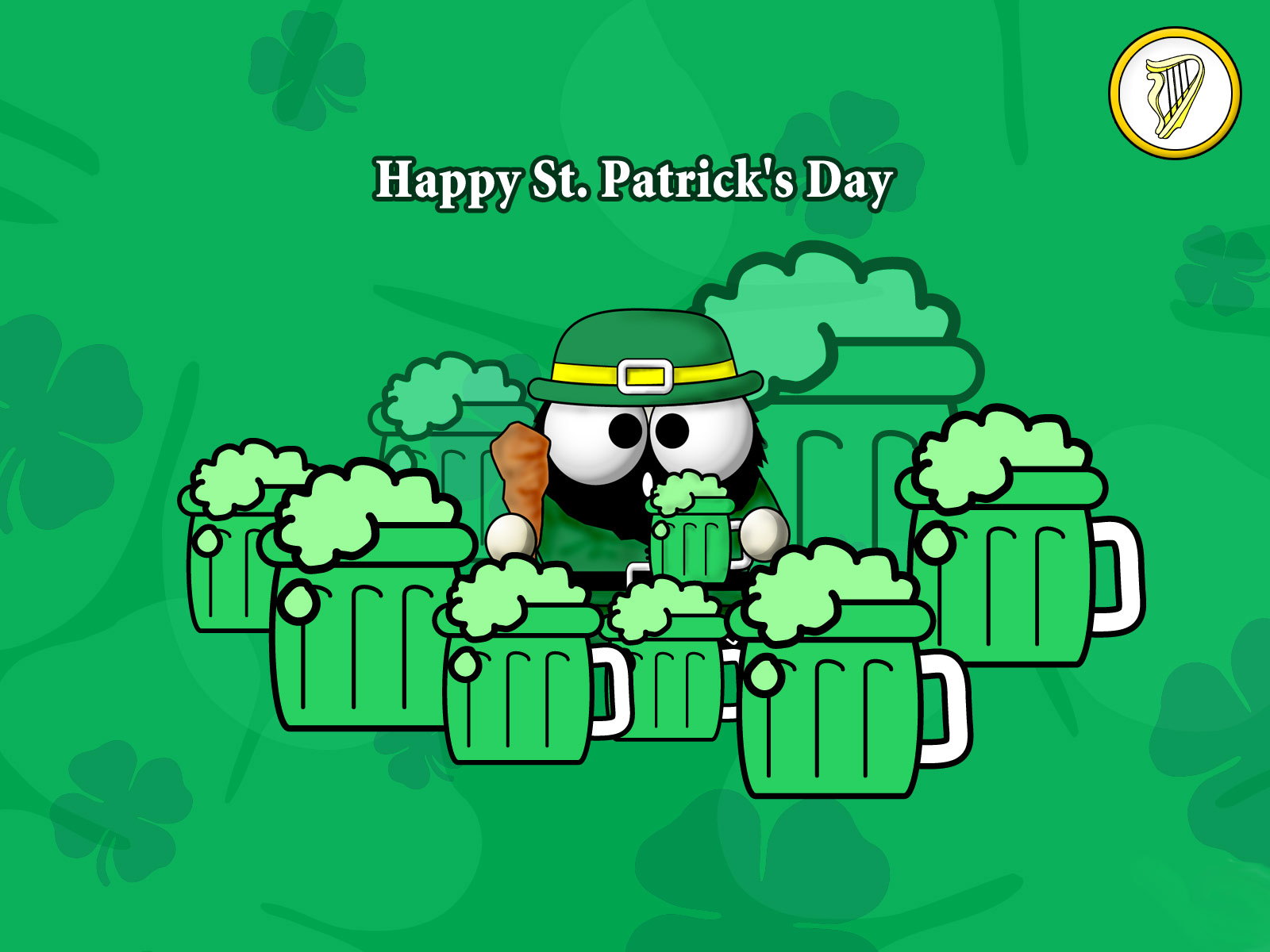 Kermit Iphone Wallpaper St Patrick S Day Leprechaun And Green Beer Wallpaper And