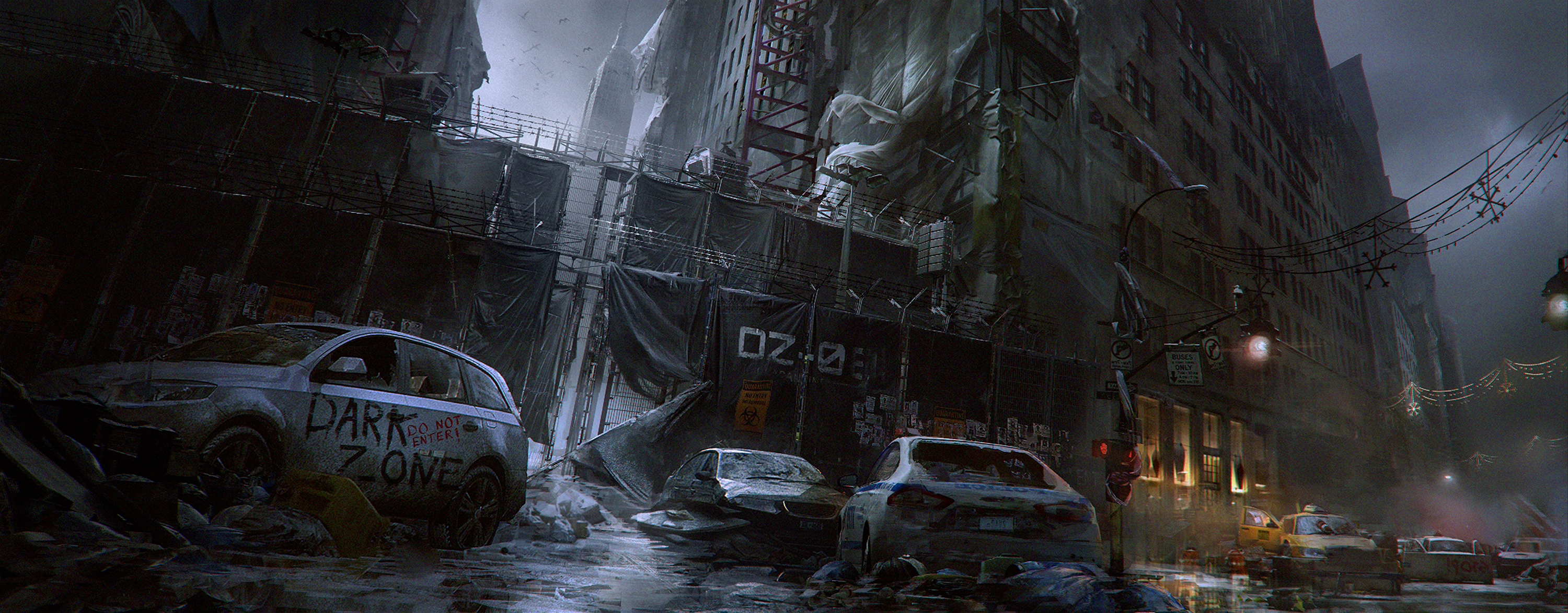 The Division  Concept Art HD Wallpaper  Background Image