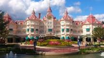 Disneyland Hotel In Paris France 4k Ultra Hd Wallpaper