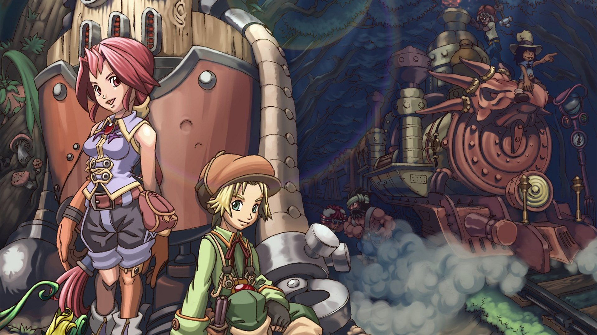 Dark Cloud 2 Hd Wallpaper
