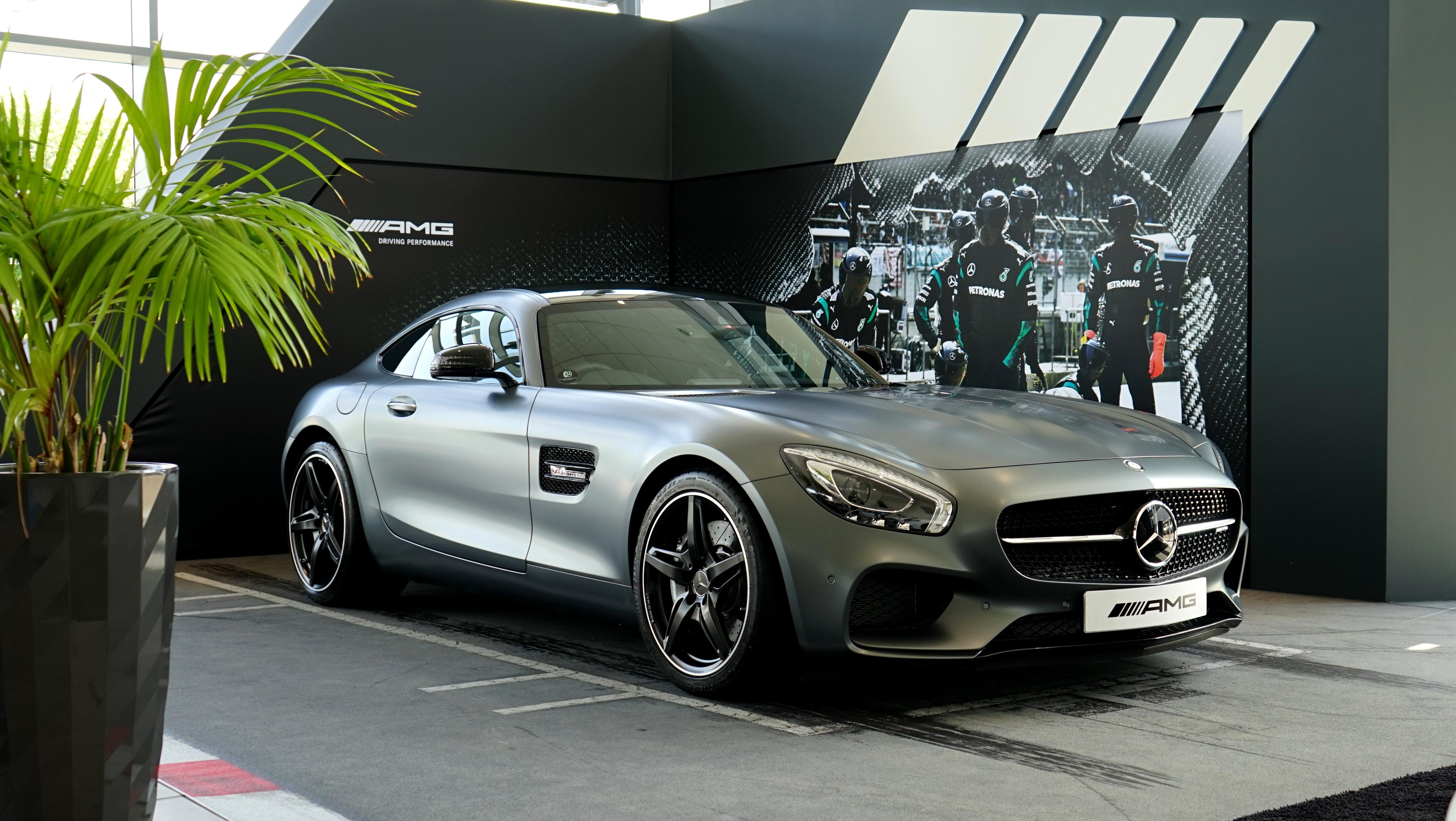 Alpha Coders Car Wallpapers Mercedes Benz Amg In The Showroom 4k Ultra Hd Wallpaper