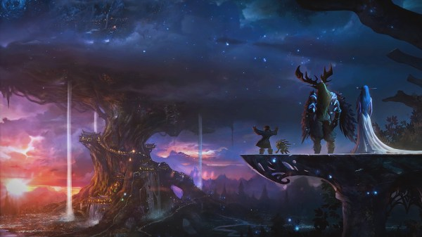 World Posted Of Kaldorei - Year of Clean Water