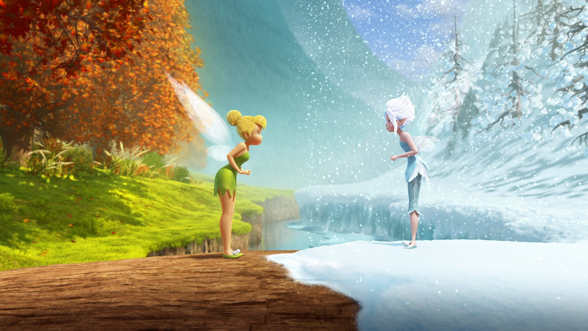 Tinkerbell Fall Wallpaper Tinker Bell Secret Of The Wings Fall And Winter Hd