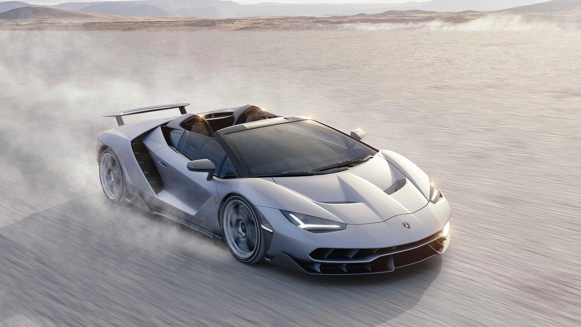 2017 Lamborghini Centenario Roadster Hd Wallpaper Background Image