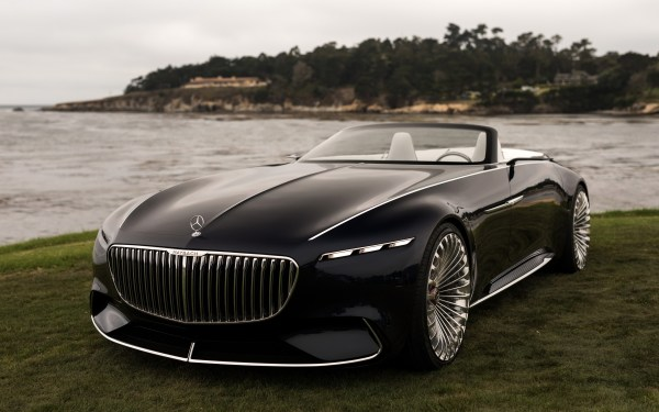 Vision Mercedes-maybach 6 Cabriolet 4k Ultra Hd Wallpaper Background 3840x2400 Id