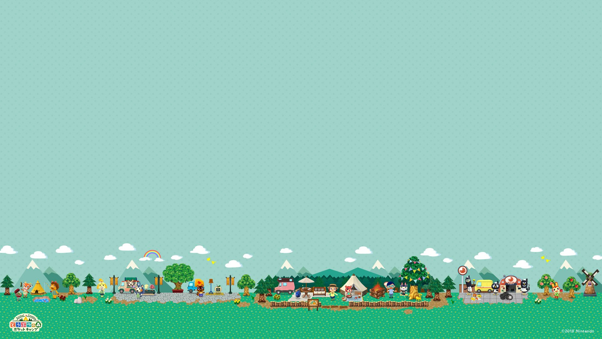 Animal Crossing Fall Wallpaper Animal Crossing Hd Wallpaper Background Image