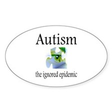 Autism The Ignored Epidemic Decal