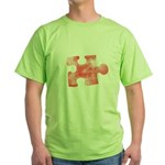 MY MISSING PIECE Green T-Shirt
