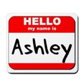 ashley name tag