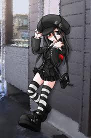 Emo Boy And Girl Kiss Wallpaper Post An Anime Character Wearing A Hat Anime Answers