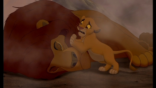 Image result for mufasa death lion king