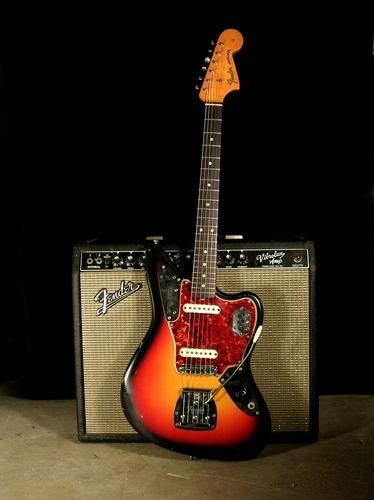Guitar images Fender Jaguar 65 HD wallpaper and background