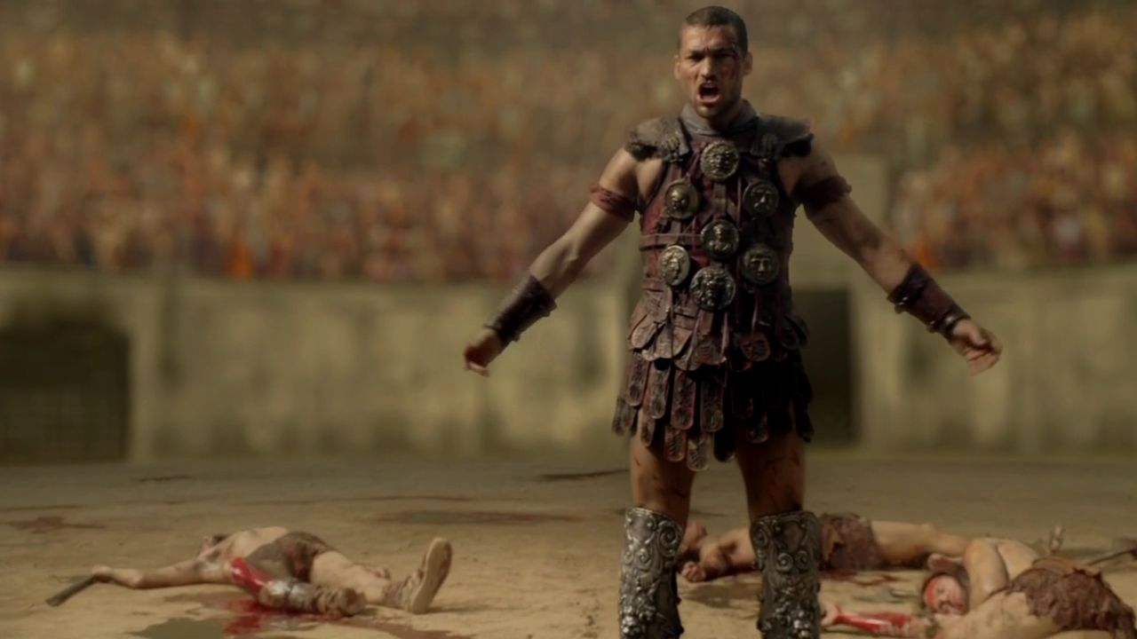 1x07  Great and Unfortunate Things  Spartacus Blood