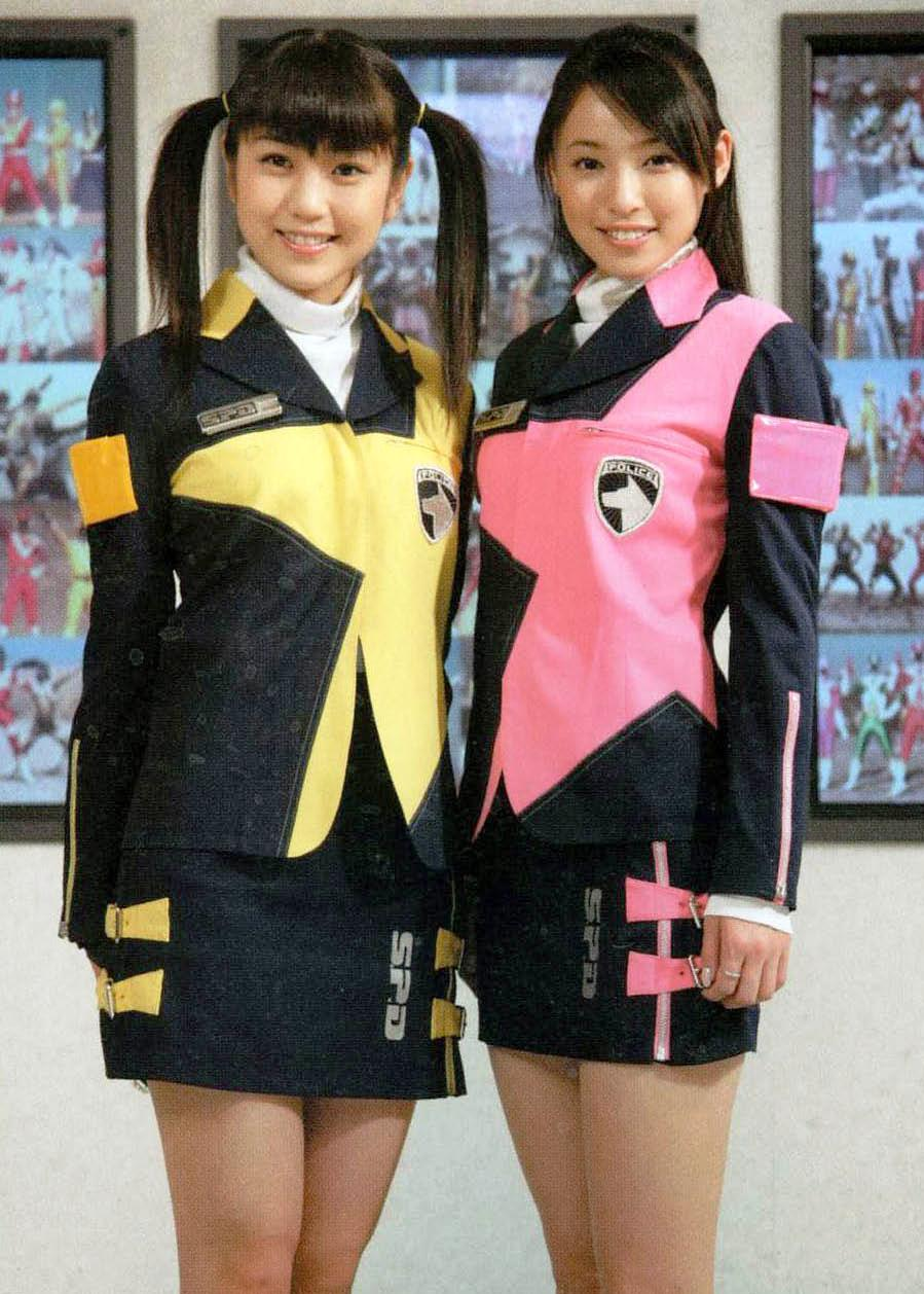 Wallpaper Engine Power Girl Super Sentai Images Sakura And Natsuki Posing As The