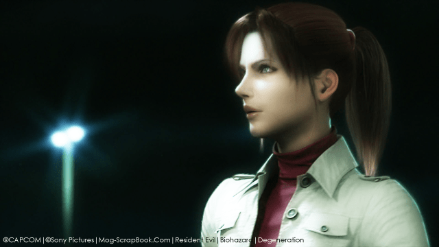 Animation Movie Wallpaper Resident Evil Degeneration Images Claire Redfield