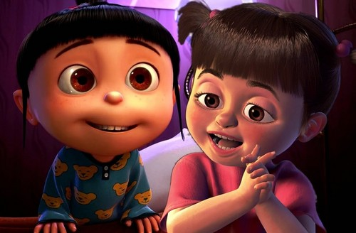 Cute Agnes Despicable Me Wallpaper Disney Crossover Images Rapunzel S Family Hd Wallpaper And