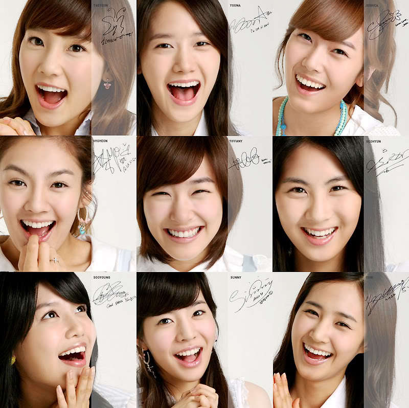 Girls Generation Signature - girls-generation-snsd Photo