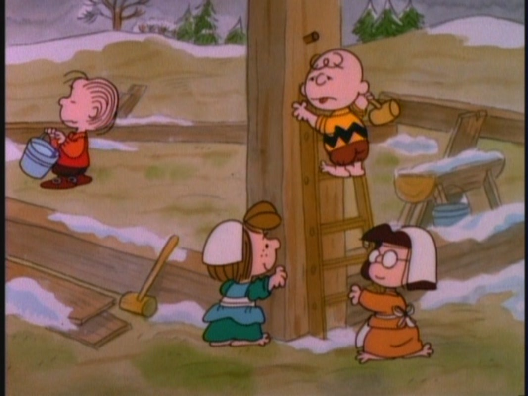 Peanuts Wallpaper Fall This Is America Charlie Brown The Mayflower Voyagers