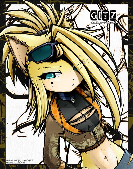 Rockstar Girl Wallpaper Gitz The Hedgehog Images Gitz The Hedgehog Wallpaper And