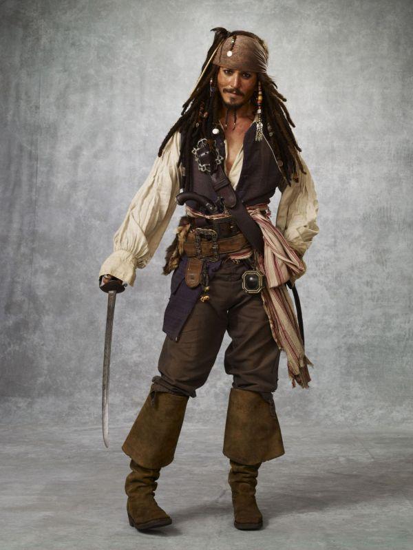 Johnny Depp Captain Jack Sparrow Costume