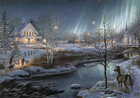 christmas scenery char s