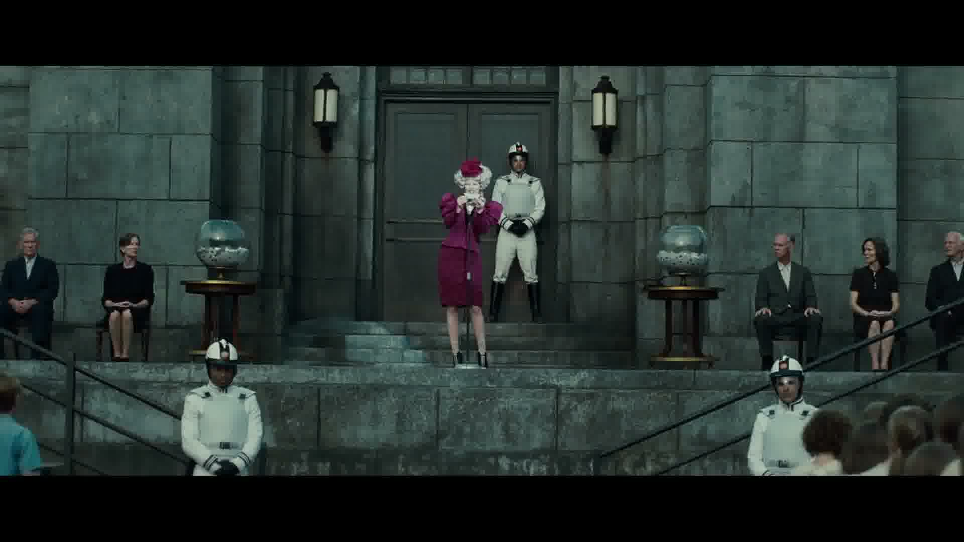 Effie Trinket Images The Hunger Games Trailer 2 Hd Wallpaper And Background Photos