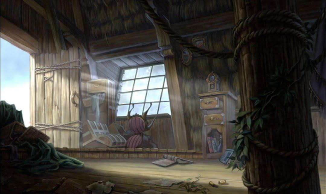 Empty Backdrop from Tarzan  disney crossover Image