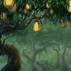 Disney Tarzan Animated Landscapes Gardening Flower And