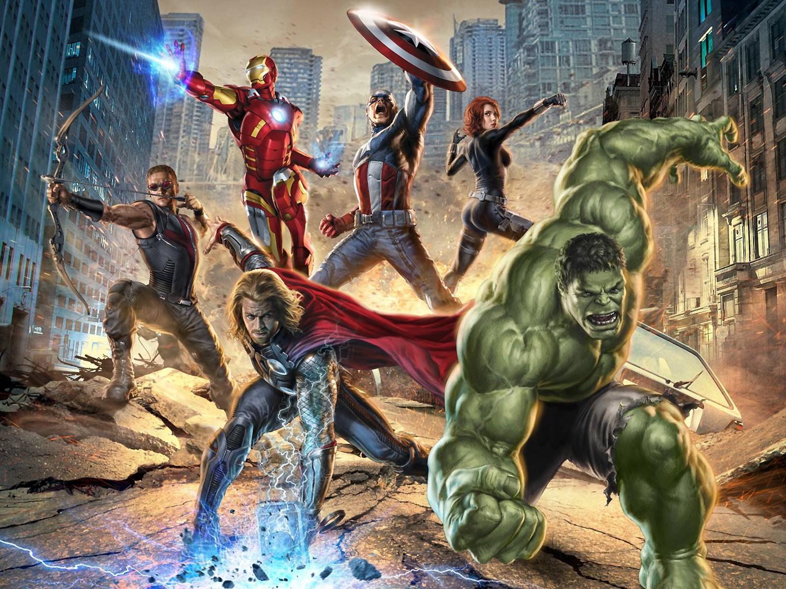 The Avengers  The Avengers Wallpaper 29517985  Fanpop