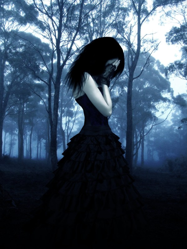 Gothic Sad Girl Hd Wallpaper And Background